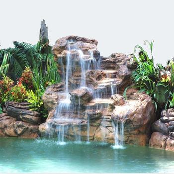 Garden Waterfalls Outdoor Glass Water Wall Fountain Pool Waterfall Fountains Buy Cascade De Piscine Fontaines De Cascade De Mur Cascades De Jardin En Plein Air Product On Alibaba Com