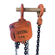 1TON hot sale China manufacturer hand chain block manual Hoist for lifting