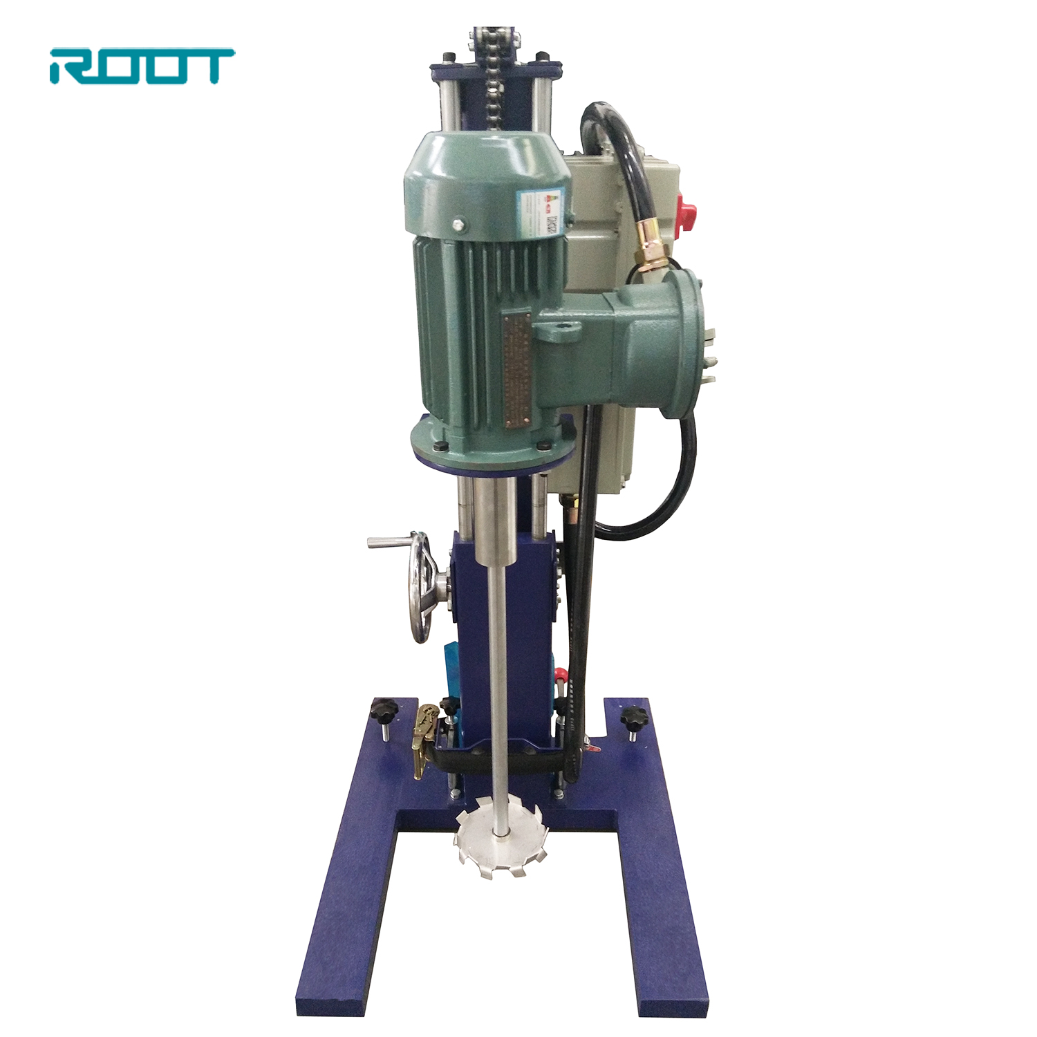 Lab high speed mixer for paint