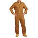 Men's Canvas Cotton Duck Brown Insulated Winter Work Coveralls