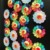 3 sizes flatback  matte/ shinny smile flower cabochons rainbow sunflower resin