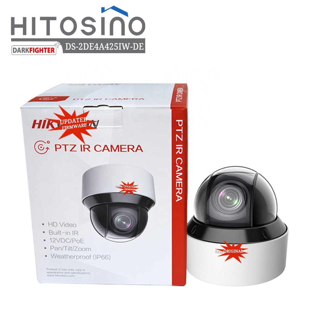 Hik vision HITOSINO Outdoor PoE 4MP 360 Endlosen Speed Dome 25X Optische Zoom IP66 IR DS-2DE4A425IW-DE Auto Tracking IP PTZ kamera