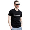 Mens T Shirts Sayings Quotes Need Money Not Friends Letter Printed T-Shirt Cotton O Neck Tee Casual Summer New Fashion
