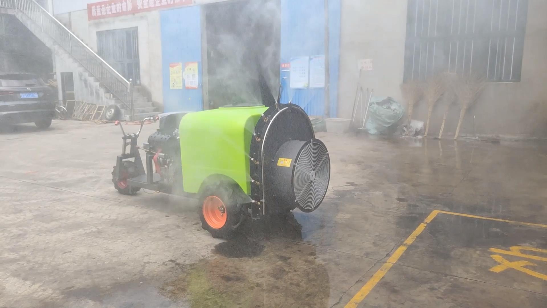 Pulvérisateur de vertical pour vergers, système de ventilateur à air comprimé pour arbre fruit