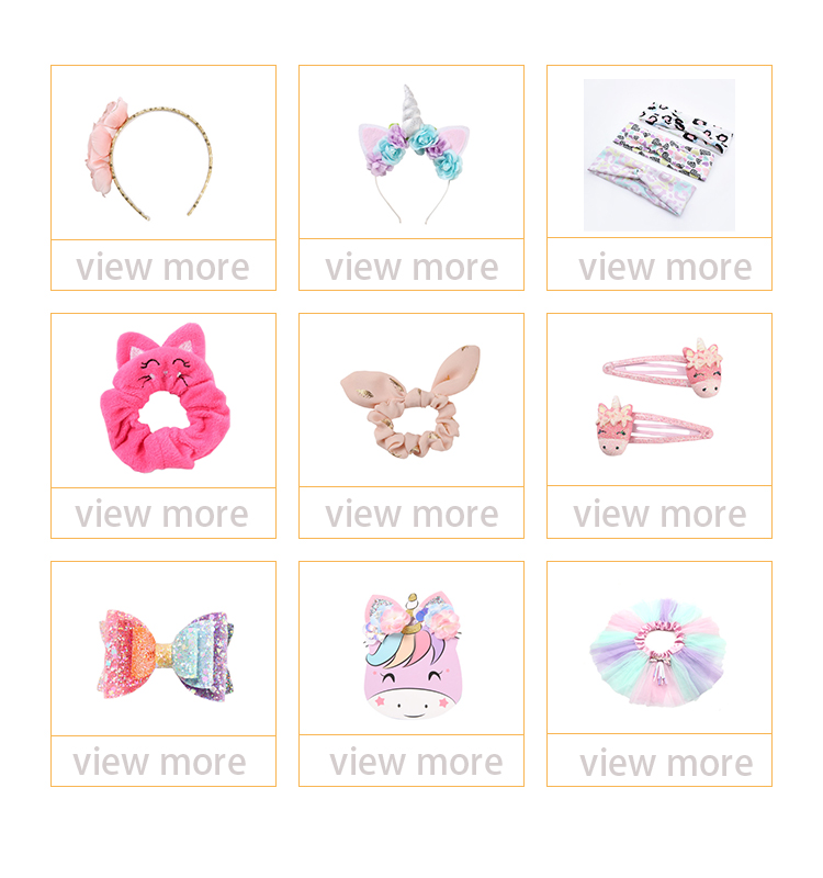 Floral Pattern Type Children Hairpins Girl Head Wear Candy Colors Hair Accessories Baby BB Clips