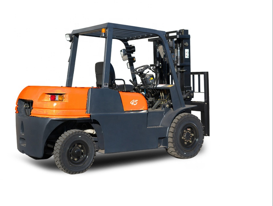 FORKLIFT WITH STOCKS