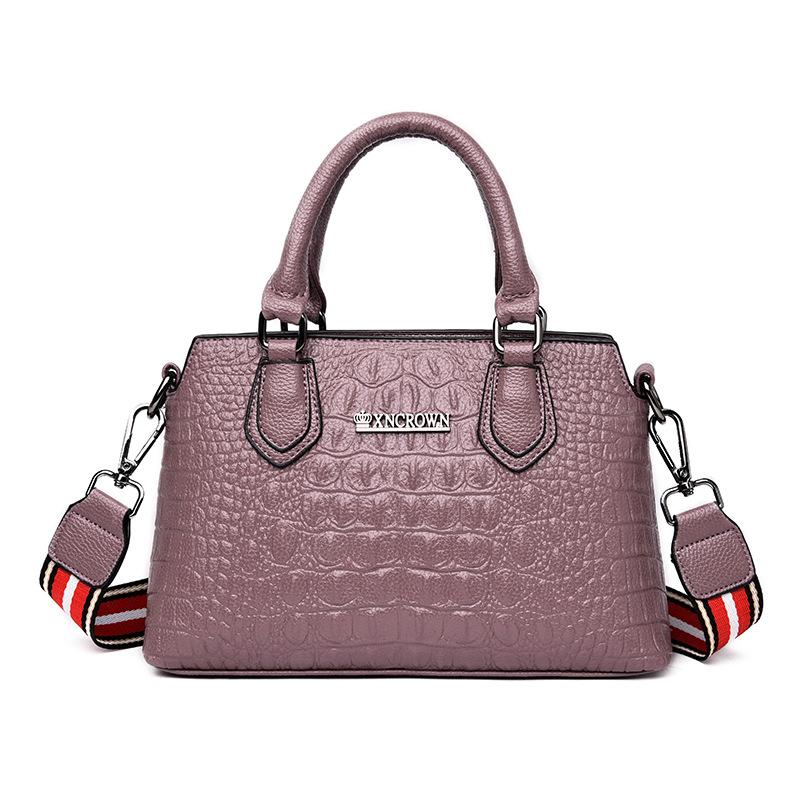 Женские сумки через плечо с узором «крокодиловая кожа» 2020, высококачественные женские кожаные сумки, мягкая сумка на плечо, женские сумки(Китай)