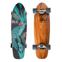27.75x8.03in arce canadiense con StainWood crucero patinetas completa