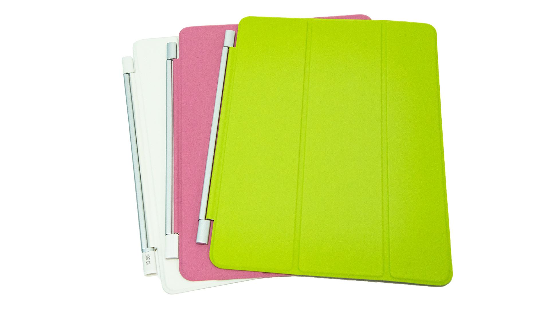 Ultra dünne magnetische folding leder flip tablet fall für iPad 9,7 smart cover vorne