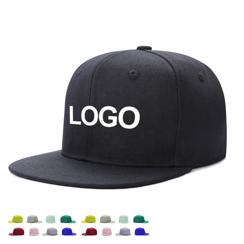 Wholesale nice quality metal sports <strong>caps</strong> custom logo blank hip hop hat plain flat brim snapback baseball <strong>cap</strong>