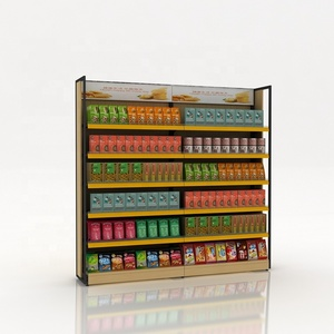 Supermarket Steel Display Shelves Metal Display Kiosk For Sale And Show