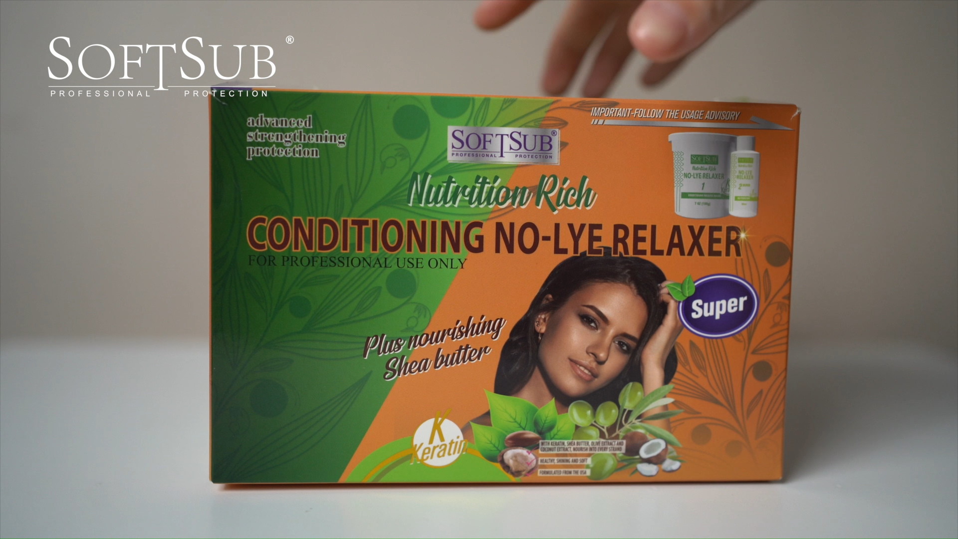 SOFTSUB Nutrition Rich Conditioning NO-LYE Relaxer