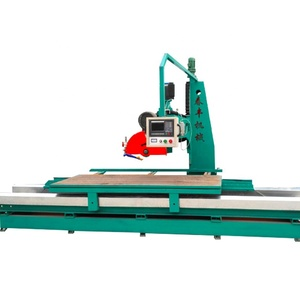 Micro -computer control quarry stone cutting/profiling machine for marble granite