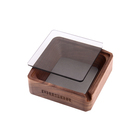 Wholesale Natural Design Commercial Wood Wooden Bamboo Ashtray