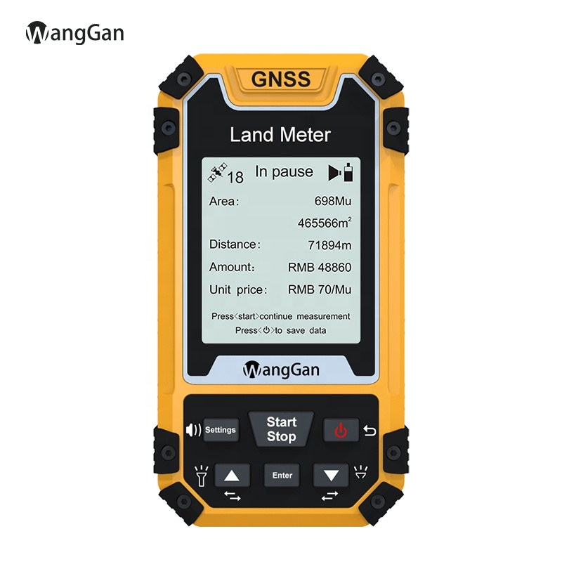 2020 Wanggan GNSS Land meter  flat  Land GPS survey equipment High Accurate Agriculture  measurement device