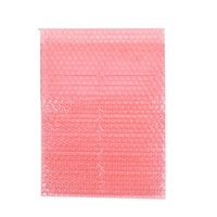 Pink air bubble pouch wrap for Anti static ESD control