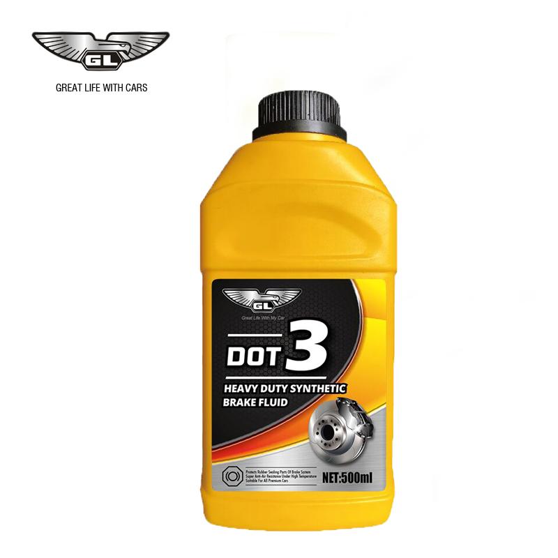 High Quality Brake Fluid DOT 3 DOT 4 Wholesale