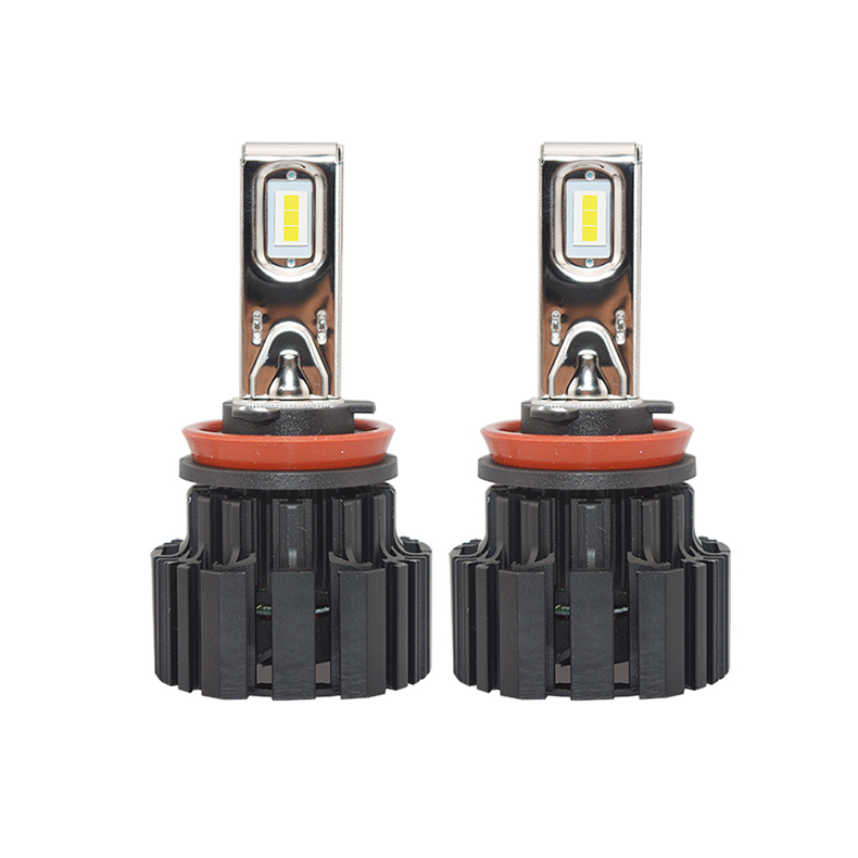 Zhuhai ZhengyuanLED Auto Lighting System Super Bright Car Led Headlight Bulbs H4 9005 9006 12V Led Headlight H7