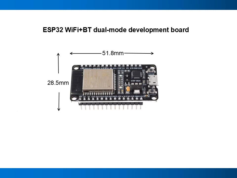 HW-463 ESP32 geliştirme kurulu WIFI + mavi şeylerin Internet akıllı ev ESP-WROOM-32 ESP-32S