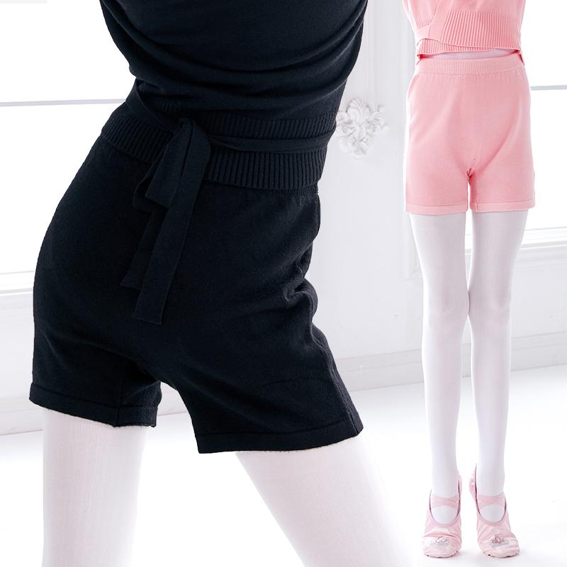 New Arrivals Winter Keep Warm Ballet Dance Pants Children Knit Dance shorts for Ballet