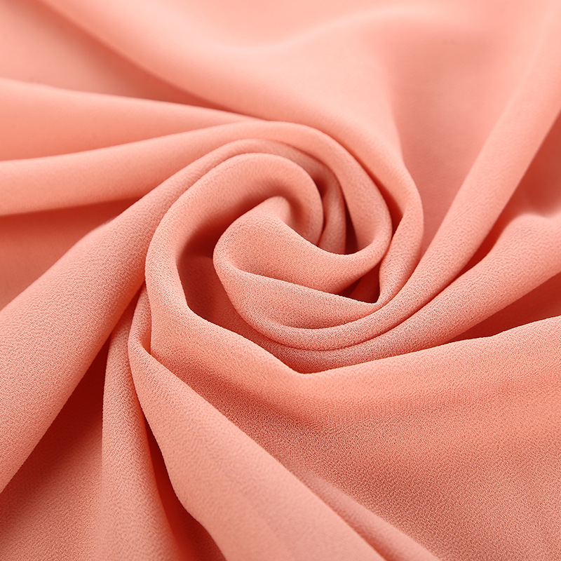Hot Sale High Quality Women Malaysia Thick Muslim Georgette Scarf Solid Plain Bubble Chiffon Scarf Hijab