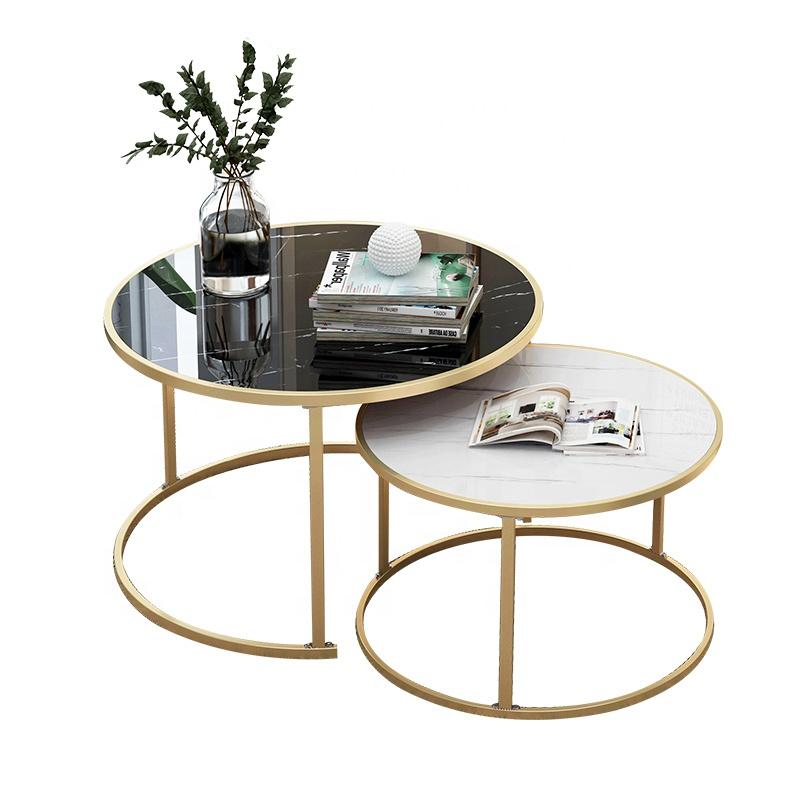 북유럽 거실 소파 사이드 테이블 간단한 현대 간단한 커피 테이블 라이트 럭셔리 작은 아파트 차 테이블