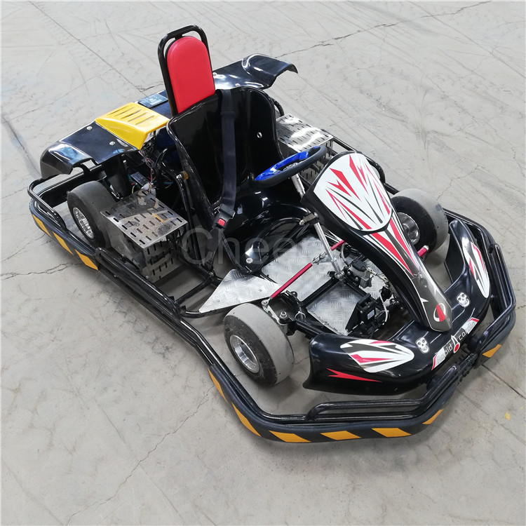 Groothandel Prijs Volwassenen Kinderen Car Racing Game Machine Gas Elektrische Go Kart Karting Auto 'S Te Koop