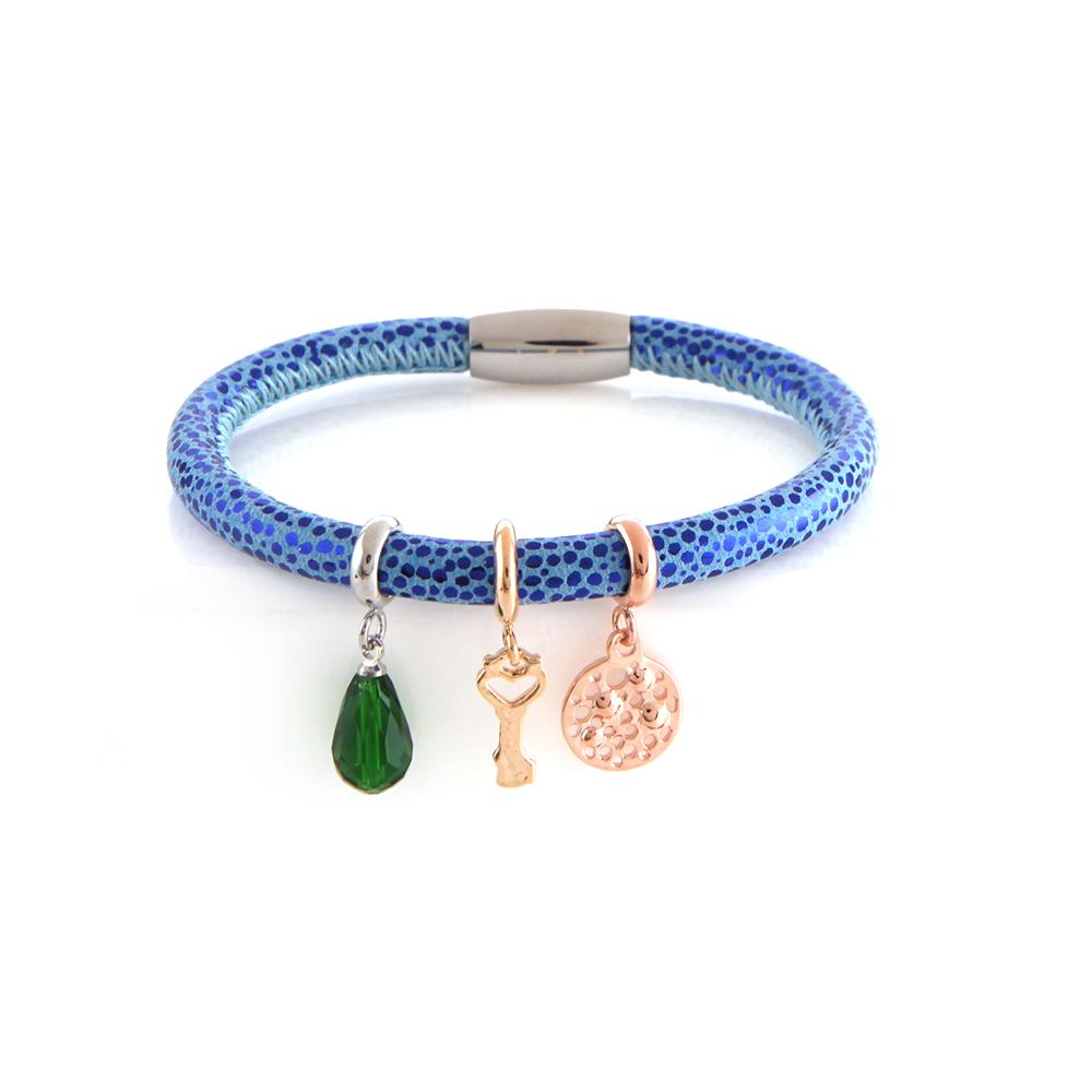 Design inspirant Charmes Bracelet En Cuir Véritable Bijoux