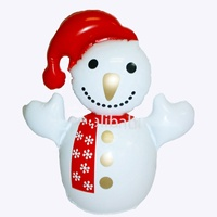 Christmas decoration inflatable snowman decoration inflatable PVC snowman toys