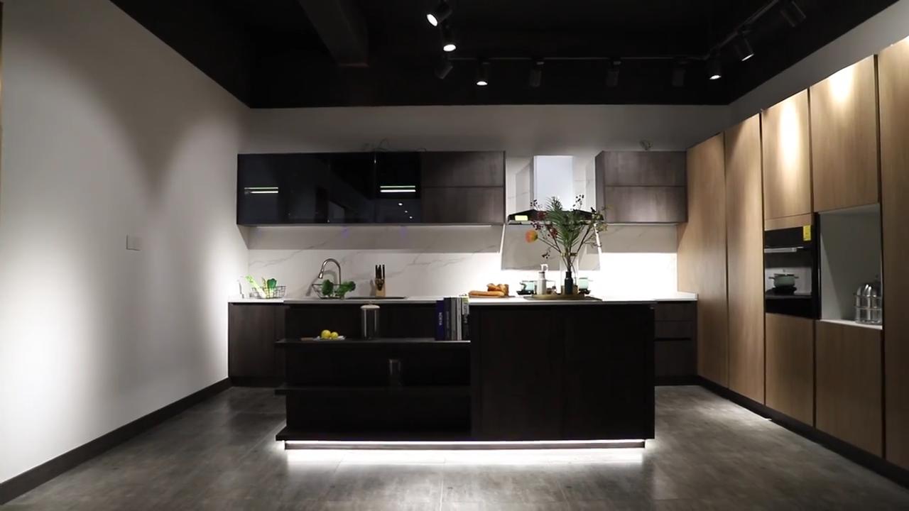 Vermonhouzz 2020 Unico Su Misura Armadio Da Cucina Per La vendita Maniglia A Scomparsa Mobili Da Pranzo