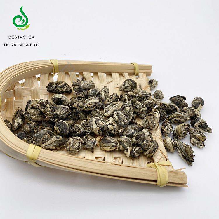 Fujian Diet Healthy Green Slimming Tea Jasmine Phoenix Eye Pearls Jasmine Green Tea Scented Tea - 4uTea | 4uTea.com