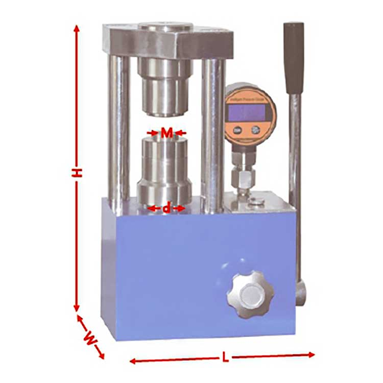 Button Battery  Labor-Saving Hydraulic Structure Packaging Press Machine