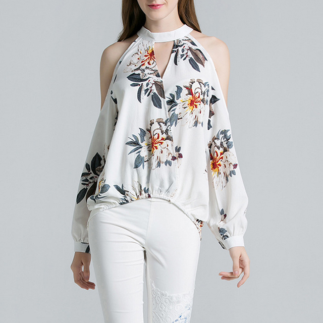 ladies' blouses2019 high quality fashion women's% 27 + shirt + best service Chiffon open back <strong>blouse</strong>