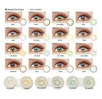HOT ocean style wholesale colored contacts natural look China yearly batis eye contact lenses