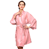 CORAL RED bath robe