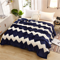 Bedspread Blanket Throw Blanket High Density Super Soft Flannel Blanket To On For The Sofa/Bed/Car Portable Plaids