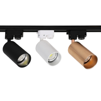 LED Track Light 12W COB Rail Spotlight Lamp Led Tracking Fixture Spot Bulb for Store Mall Exhibition