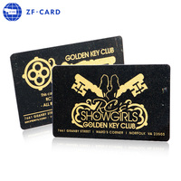 Accept Custom Order Gold bar packing plastic card/customized standard size rfid card