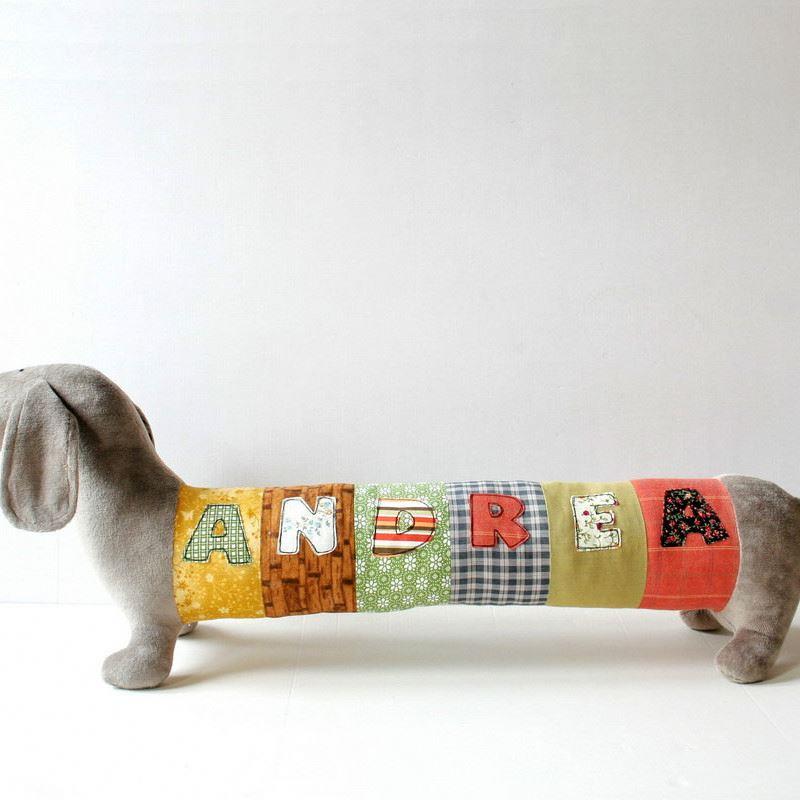 Personalized Dachshund Puppy Nursery