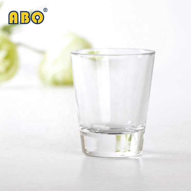 19YRS ग्लास-व्यापार-ध्यान केंद्रित इतिहास क्लासिक शैली चाय शराब शराब पीने पारदर्शी शॉट ग्लास छोटे गिलास कप