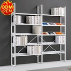 High Quality Customize product Metal library bookshelf comic book store display shelves