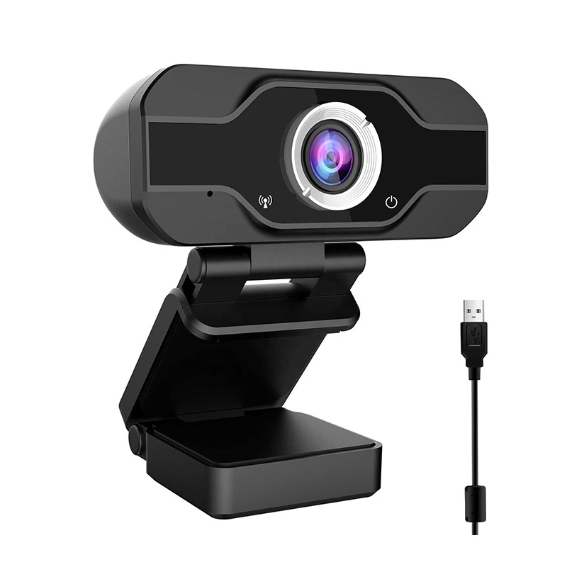 High Definition Rotatable HD Webcams Computer 720P 1080P 2K Webcam with  Privacy Cover for PC Laptop