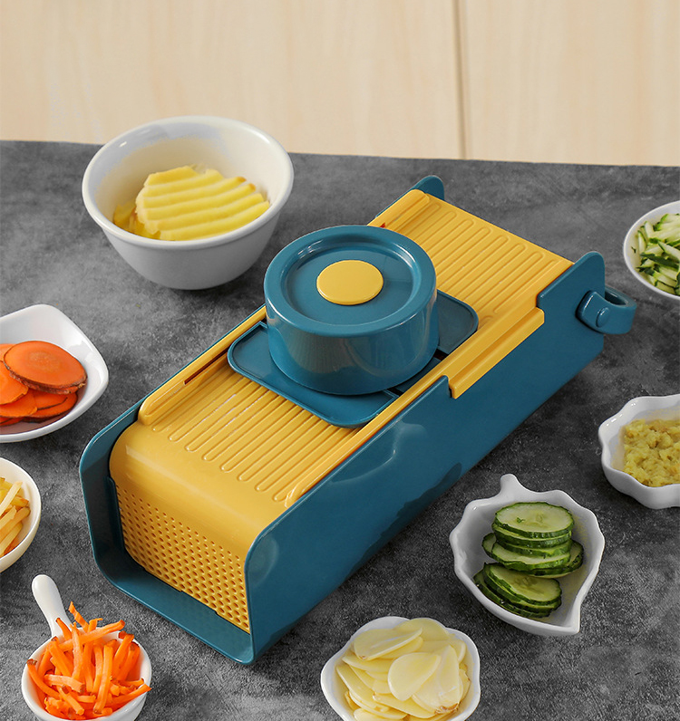 Amazon Top Selling Kitchen Tools Multifunctional Slicer Chopper Machine Vegetable Cutter Shredder With Storage Buy Portable Vegetable Slicer 2020 Manual Tools Vegetables Grater Kitchen Vegetable Shredder With Storage Product On Alibaba Com
