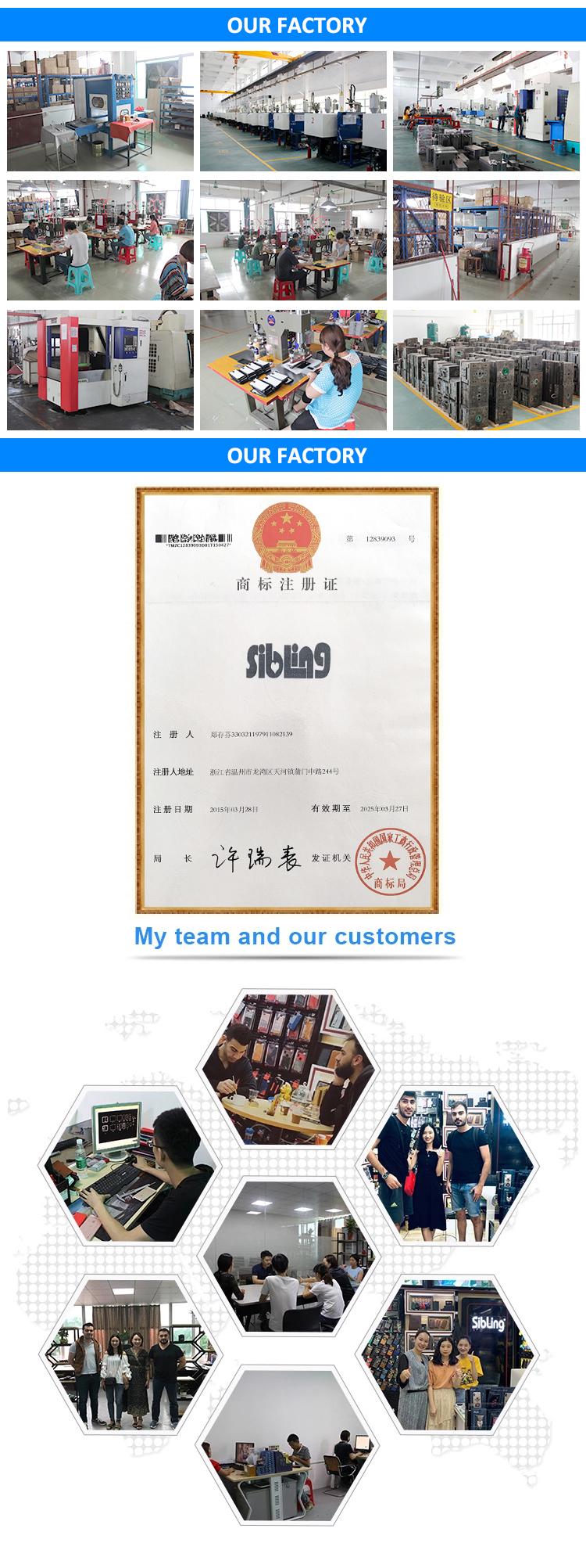 고품질 도매 주문 가죽 사용자 정의 방수 전화 케이스