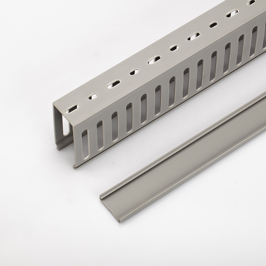EASCO Covered Wire Close Slotted Cable Trays Wire Duct Sizes