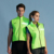 Hi Vis LED reflective cycling vest for outdoor activities at night