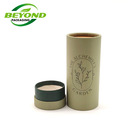 Container Oil Recycled Custom Printed Logo Cardboard Container Paper Tube For Essential Oil Bottle Packaging