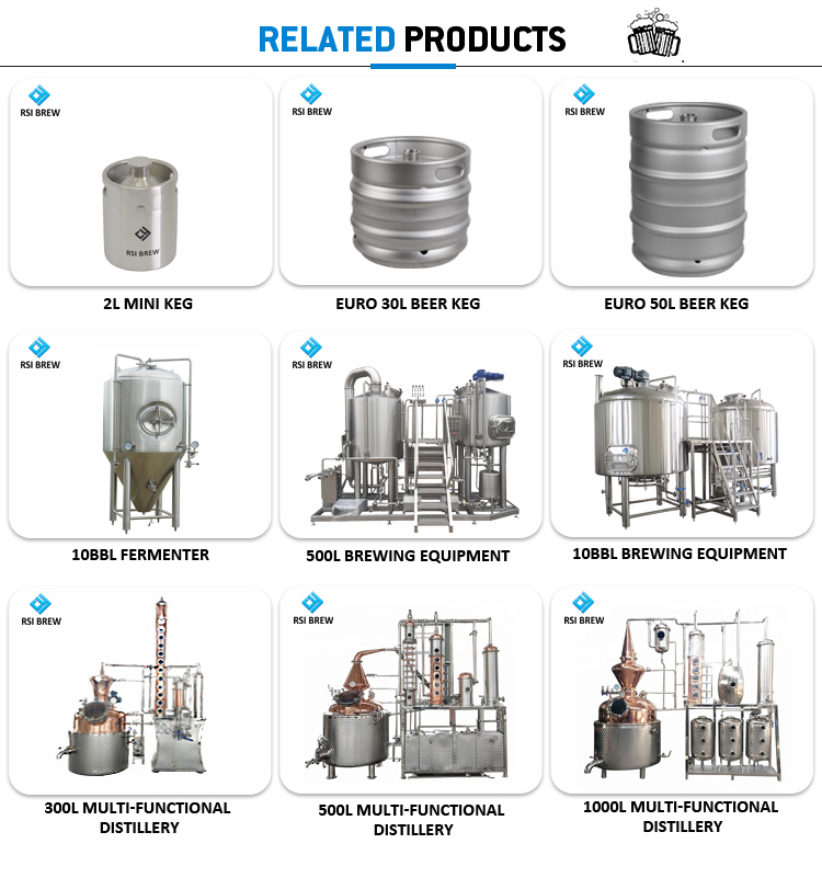 High Quality Capacity 10BBL Large Craft Conical BREWING SYSTEM
