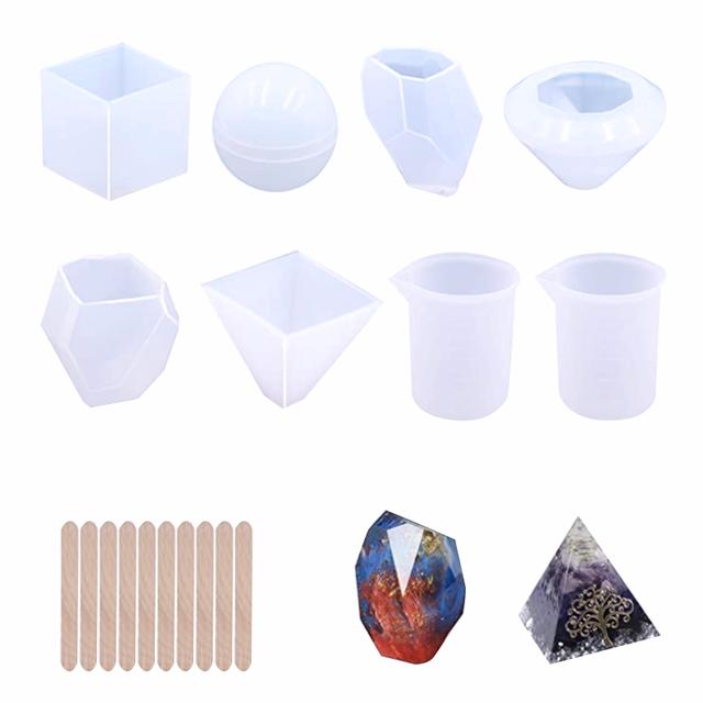decoraci/ón del hogar 2 juegos 28 moldes resina epoxi de domin/ó silicona resina sint/ética regalo hecho a mano juego de moldes para verter de resina para bricolaje molde resina domin/ó personalizado