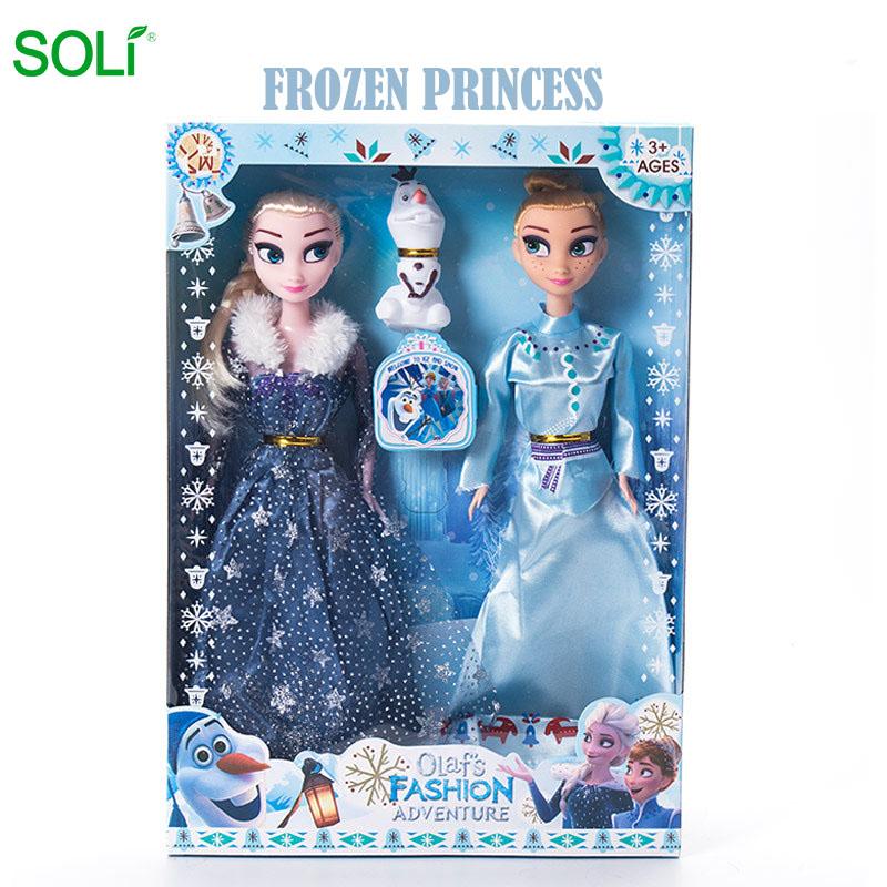 Hot sell Frozen elsa frozen 2 frozen doll elsa toys for girls